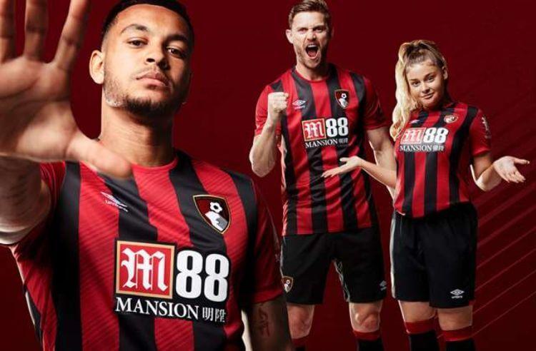 nhà cái M88 tài trợ AFC Bournemouth