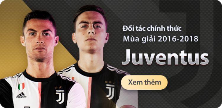 nhà cái vwin tài trợ Juventus