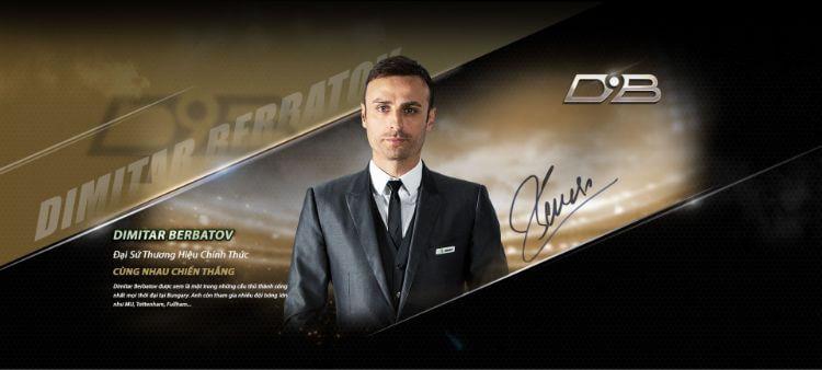 Berbatov đại sứ thương hiệu nhà cái JBO