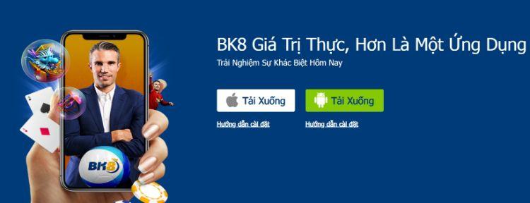 ứng dụng BK8