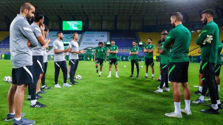 đội tuyển saudi arabia world cup 2022