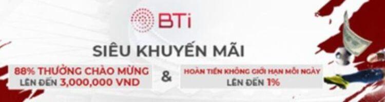 thưởng thể thao Bti 12BET