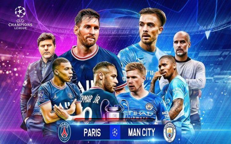 PSG và Man City